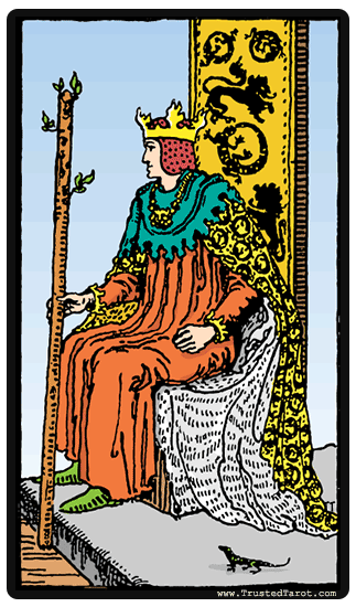 lá king-of-wands tarot