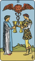 Two of Cups icon