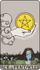 Ace of Pentacles icon