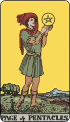 Page of Pentacles icon
