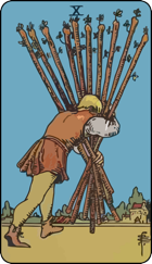 Ten of Wands icon